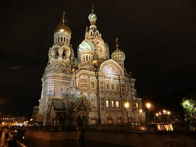 ★個人旅行★ サンクトペテルブルグ→キジ島→モスクワ 2 サンクトペテルブルグ到着
