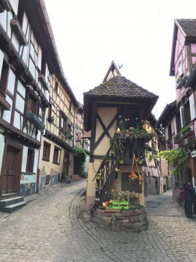 2017年GW 6 パリ~コルマール~小さな村めぐり~