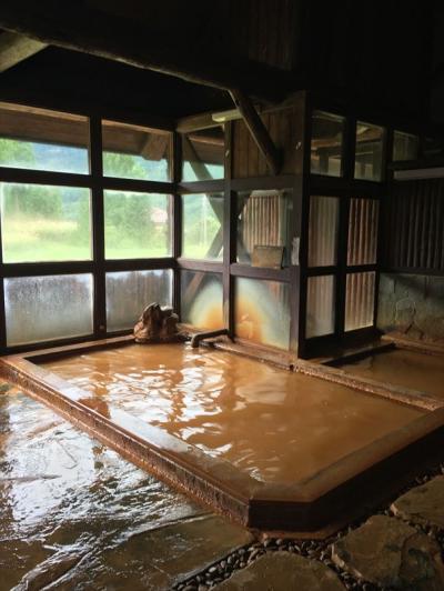 2017年09月 長野市)小赤沢温泉「楽養館」 に行ってきました。