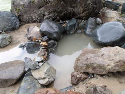 2017年09月 長野市)切明温泉「河原の湯」 に行ってきました。
