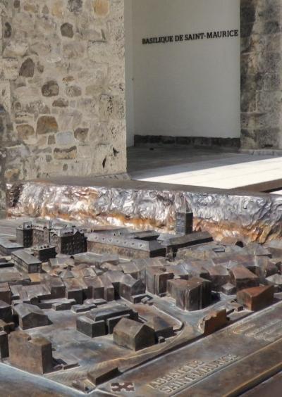 スイス・ロマンドの美しい街15 サン=モーリス/Saint-Maurice