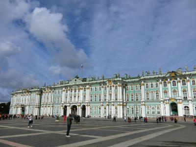 ★個人旅行★ サンクトペテルブルグ→キジ島→モスクワ 3  サンクトペテルブルグ観光