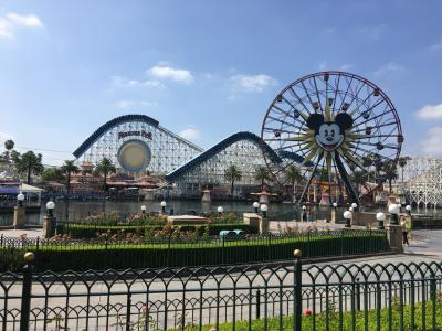 カンクン→ロサンゼルスの旅 7 ディズニー・カリフォルニア・アドベンチャー・パーク