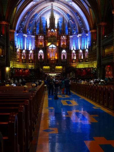 モントリオールーーー幻想的な聖堂、奇跡の礼拝堂の街。