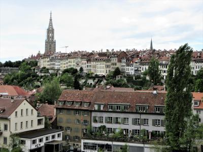 2017年7月 スイス8日目 その2 ベルンで旧市街地、熊公園、バラ公園で街を眺めました