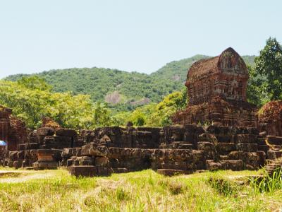 今年の夏もベトナムのホイアンとダナンでのんびり  3日目 世界遺産ミーソン遺跡