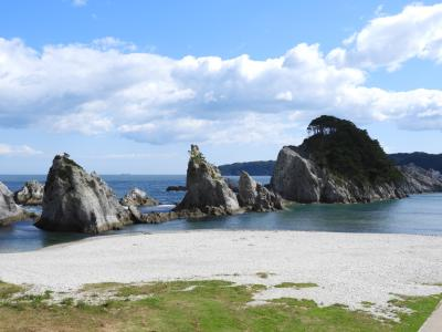 岩手、青森、福島へ親父3人旅。