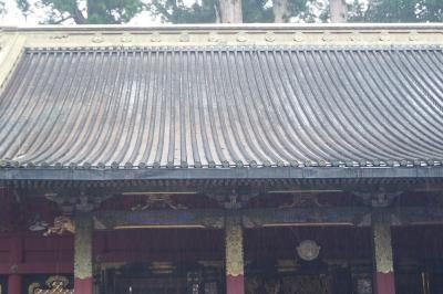 輪王寺 薬師殿 本地堂 東照宮の中に唯一の寺社 鳴き龍は最高です