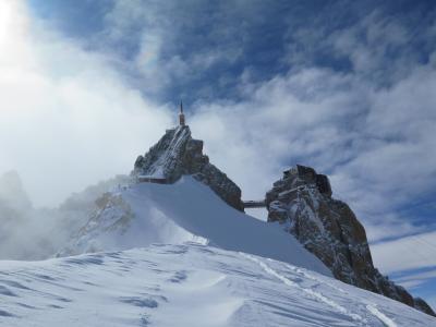 シャモニーの休日:雪と岩に挑んだ  mistral・夫  の旅行記。