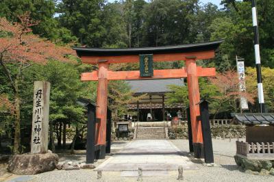 丹生川上神社中社参拝