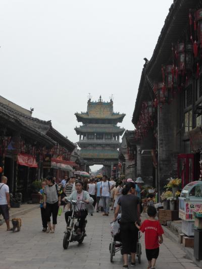 3歳娘を連れて中国山西省7日間の旅2-票号だらけでちょっと飽きてくる平遥古城後編