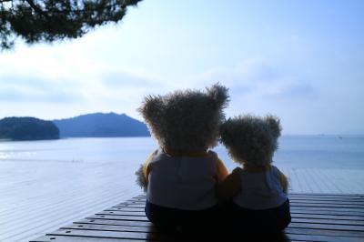 PippiとPoohが行く!小豆島・直島 ③(3日目 直島)