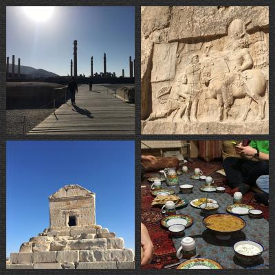 ペルシャ王国の生まれた場所へ-ペルセポリス、ナクシュ・エ・ロスタム、パサルガダエへの1dayツアー  2016-17イラン・UAE&カタール旅行(5)