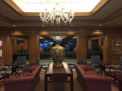 2017年9月 シンガポール航空プレミアムエコノミークラスで弾丸里帰り旅行記 その3 椿山荘スイートルーム と レストラン みゆき での夕食