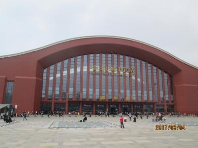 哈爾濱の哈爾濱西駅(高速鉄道)