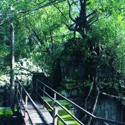 ベンメリア遺跡、コーケー遺跡とプレアビヒア世界遺産のチャーターツアー