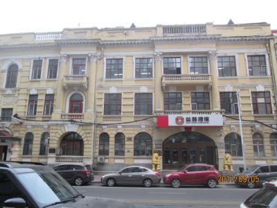 哈爾濱の西二道街・上遊街・歴史建築