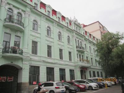 哈爾濱の中医街・西五道街・歴史建築