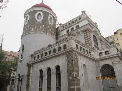 哈爾濱の紅霞街・歴史建築