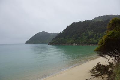 ニュージーランド・南島トレッキングの旅 4日目 エイベル・タスマン・コースト・トラック2~ププ・スプリング~ネルソン