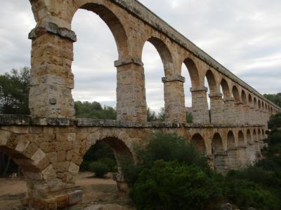 上を歩けるって?紀元2世紀の水道橋@タラゴナ(2017年8~9月の旅 その4)