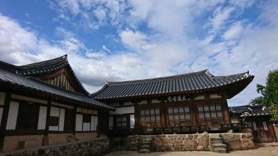 釜山発 安東にOPツアーで行ってきました! 2017長月