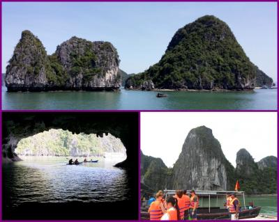 2017年5月ハノイ・シンガポール旅行記  ⑧ 「今回のハノイ旅行でのメインイベント。『ハロン湾1泊2日ツアー』に参加してきました。第2日目」~ハロン湾編 2017年5月15日~5月16日