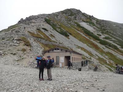 扇沢から室堂まで色々な乗り物に乗って目指すは立山(3015m)でしたが?