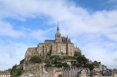 今更ながら憧れの初フランス旅【5】 -- 憧れのモンサンミシェルの街歩きを堪能!! <1日目-1> --