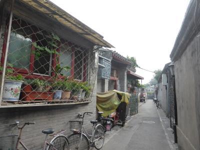 3歳娘を連れて中国山西省7日間の旅9-地図アプリを頼りに胡同ぶらぶら