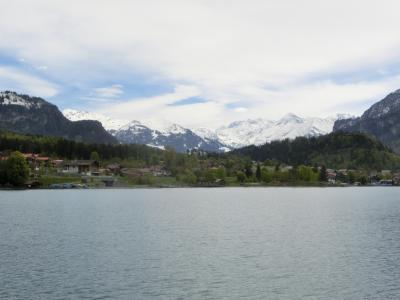2017GW スイス21:インターラーケン→ブリエンツ スイスパスを使い倒すブリエンツ湖の船の旅