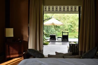 モンスーン期、Banyan Tree Lang CoのLagoon Villaでホテルステイ