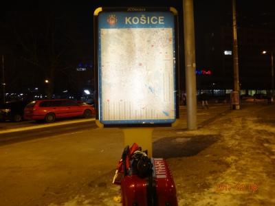歴史のあるスロバキアの第2の都市コッシェ。コッシェの街並みには重厚な建物が。ウクライナまで100km