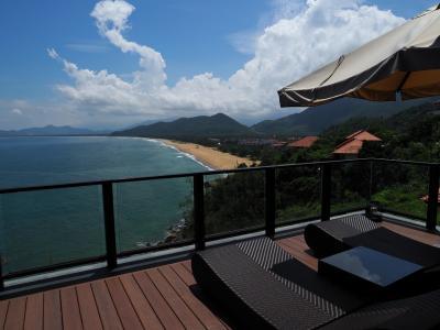 ベトナム中部ランコーのBanyanTreeのHill Villaで滞在