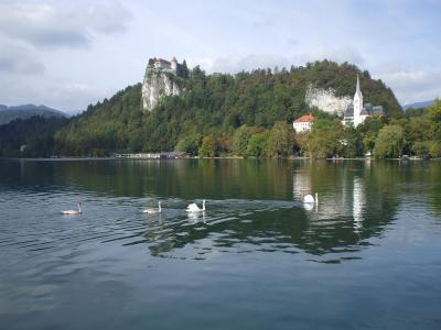 「ブレッド湖(スロベニア)」!