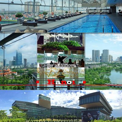 フーコック新規オープンホテル宿泊旅3 番外編、トランジットでJW マリオット ホテル ハノイ宿泊、Crystal Jade Palaceの中華と、屋内プールおすすめです-