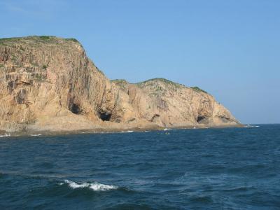 行って来ました 香港旅行VI 西貢諸島 ボートで火成岩地質の学習