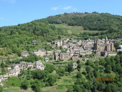 2017フランスひとり旅 ~3日目はコルド・シュル・シエル、コンク村、アルビを散策~