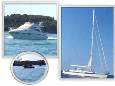 久しぶりの一人旅はイタリア・番外編(クロアチア・ロヴィニ)9月22日(金)ロヴェニ到着後すぐにアドリア海の洋上散歩・・海の青さ・潮風・風景に旅の疲れも吹っ飛びました。