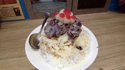 オヤジ、かき氷18杯食べました。in 台湾  No6