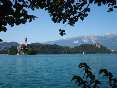思い切って個人旅行★夏のクロアチア・スロヴェニア #8 アルプスの瞳・ブレッド湖 part1