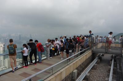 香港旅行2017 2-2 ピークタワーから街中へ