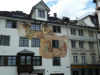 2017 再び、初夏のスイスへ  11 サンクト・ガレンへ
