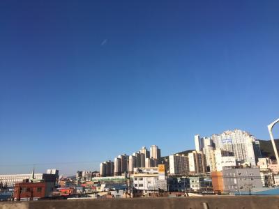 弾丸日帰り釜山旅