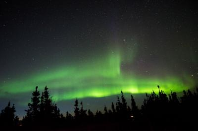 オーロラを見にアラスカへ