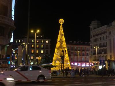 2016/17_年末年始のスペイン旅(1)旅程とマドリット街歩き