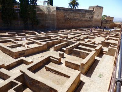 グラナダ2日目_ナスル宮よりアルカサバに惹かれたアルハンブラ宮殿・後編_201709(8)