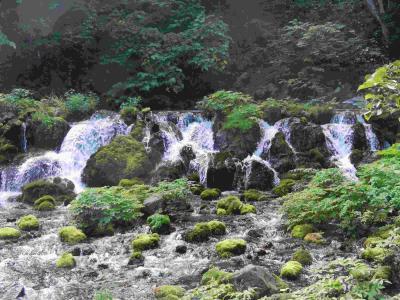 きれいな水に出会う旅 支笏洞爺国立公園 1  ふきだし公園に寄ってから洞爺湖へ行く