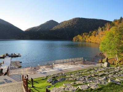 大雪山麓周遊・・紅葉の然別湖と糠平湖をめぐります。