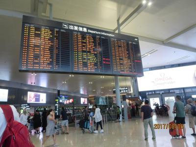 2017・8 フフホト・大同・張家口・宣化・北京の旅(2)~福岡から上海へ・まさかの&またかの東方航空フライトキャンセル